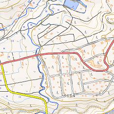 国土地理院地形図