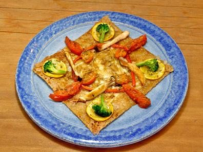 チーズ・オニオン・野菜のグリル