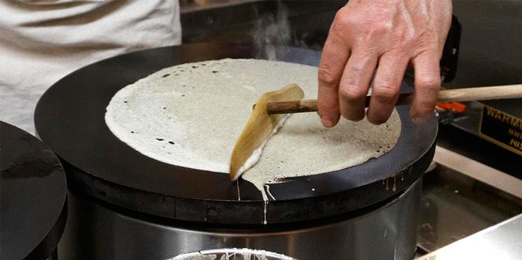 ガレットの焼き方